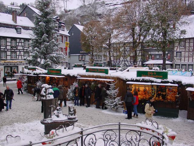 jaarlijkse kerstmarkt - vakantiehuis in monschau voor 10 personen